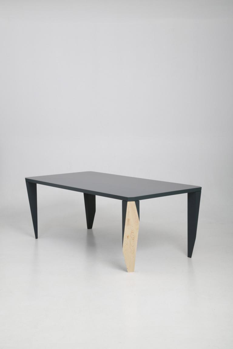Square coffee table is ided by random cuts these differ from - Alt